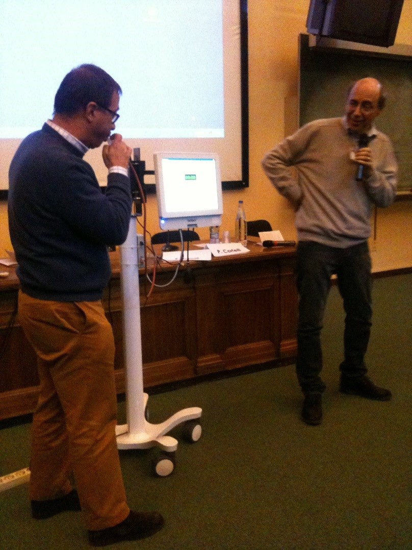 Cortelli's Valsalva test during last meeting in Bologna